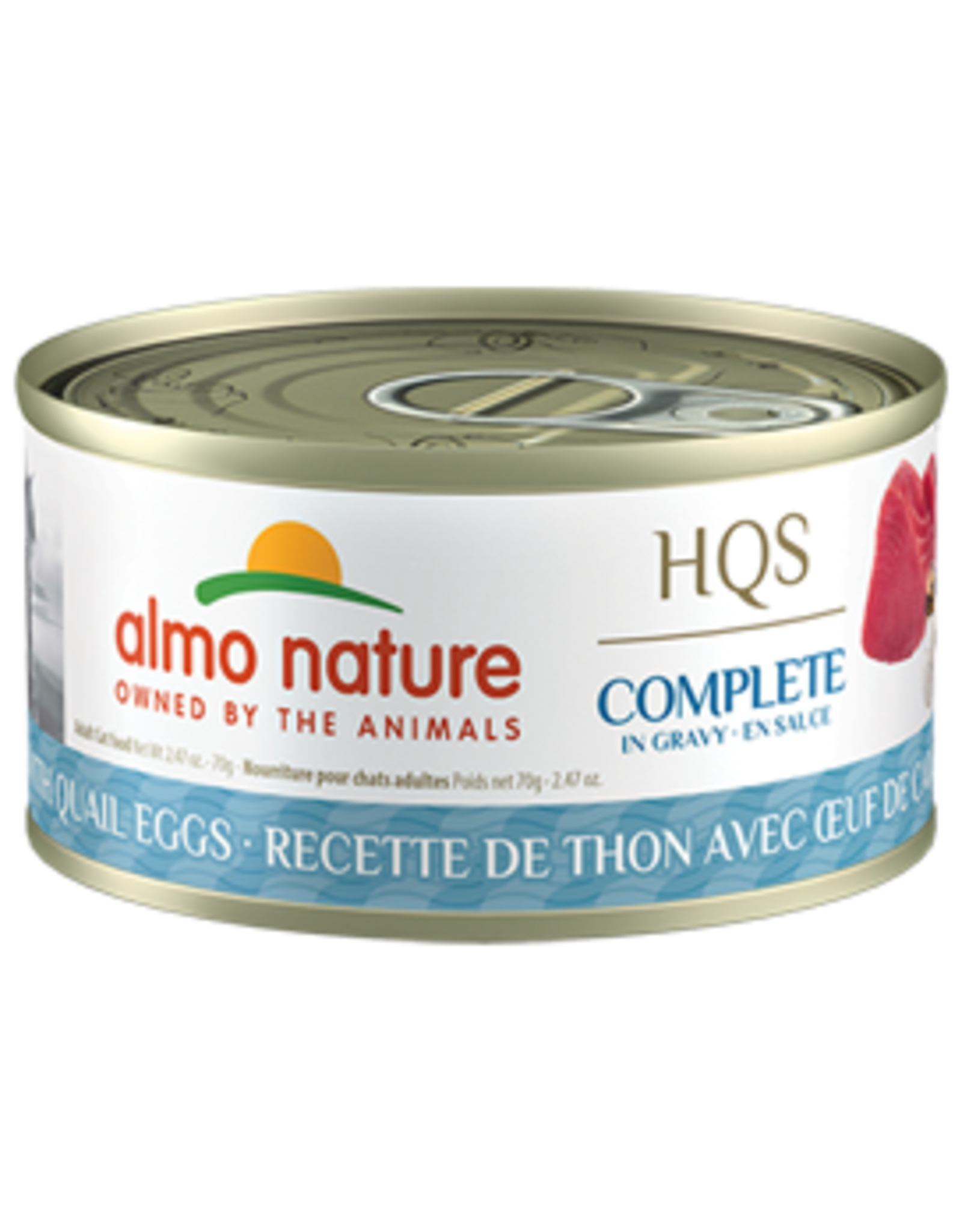 almo Almo Nature Complete Tuna with Quail Eggs in Gravy Cat 70g