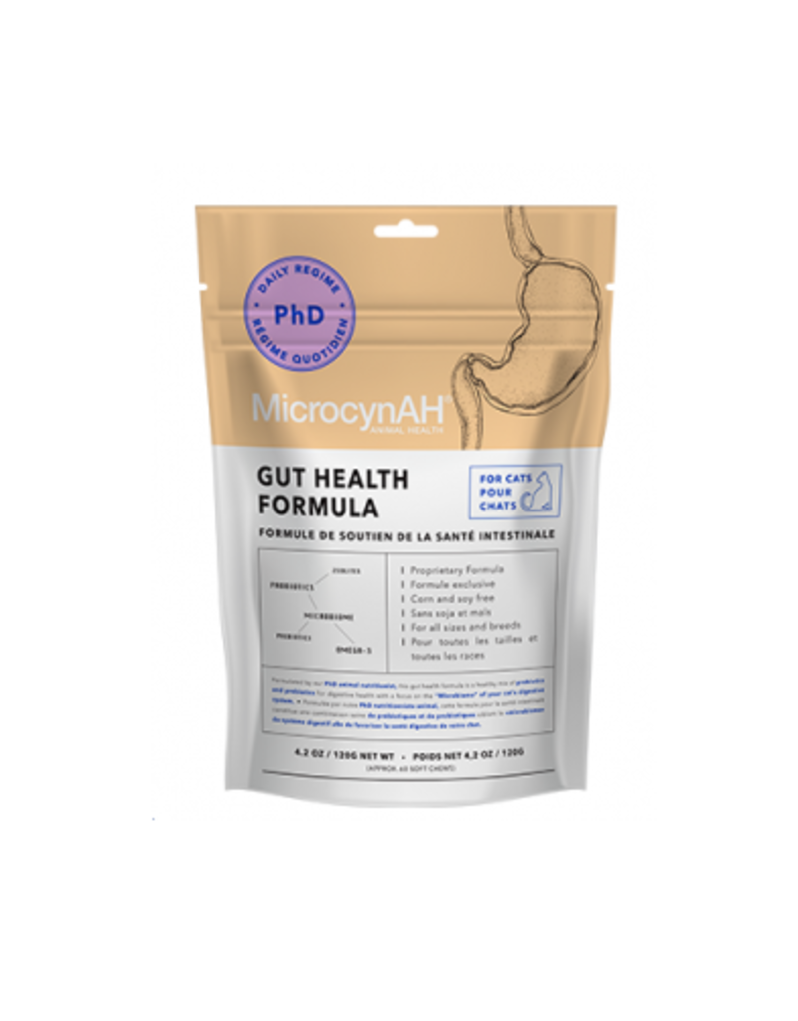 MicrocynAH MicrocynAH Gut Health Formula for Cats 4.2 oz