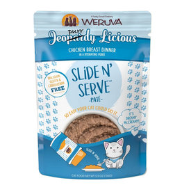 Weruva Weruva Cat Slide N' Serve Jeopurrdy Licious Pouch