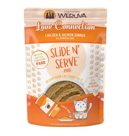 Weruva Weruva Cat Slide N' Serve Love Connection Pouch