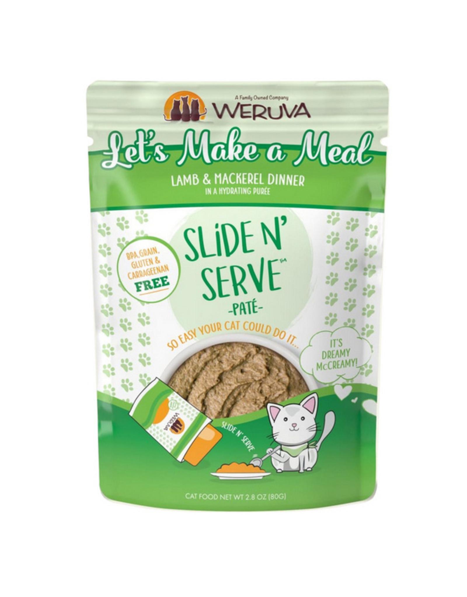 Weruva Weruva Cat Slide N' Serve Let's Make a Meal Pouch