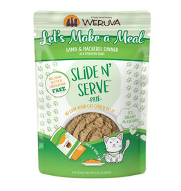 Weruva Weruva Cat Slide N' Serve Let's Make a Meal Pouch