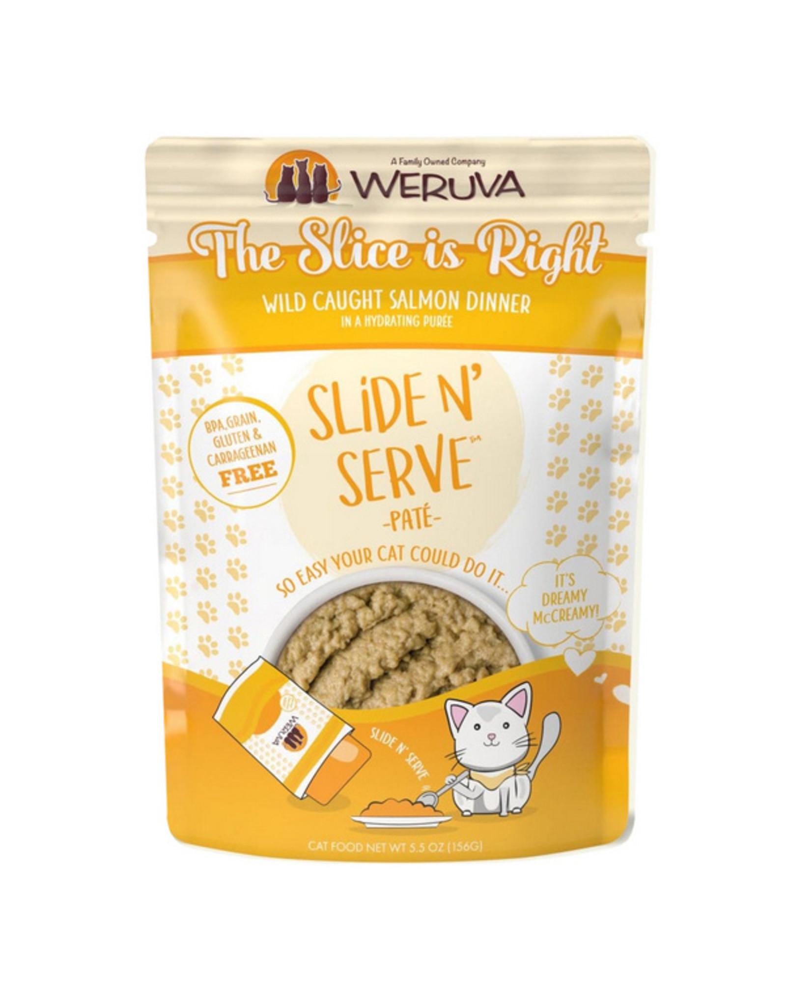 Weruva Weruva Cat Slide N' Serve Slice is Right Pouch