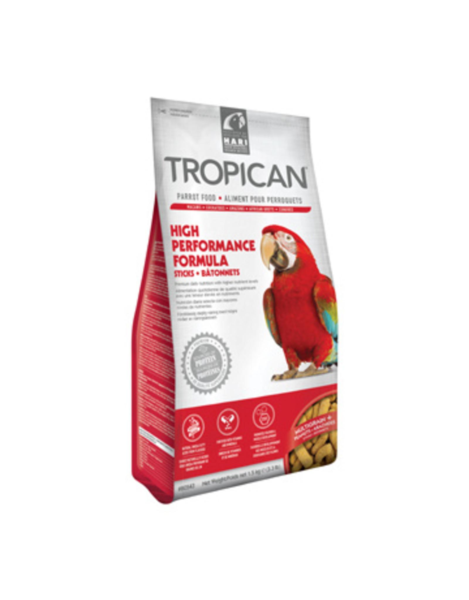Tropican Tropican Lifetime Formula Sticks for Parrots 3.63 kgs (8lbs)