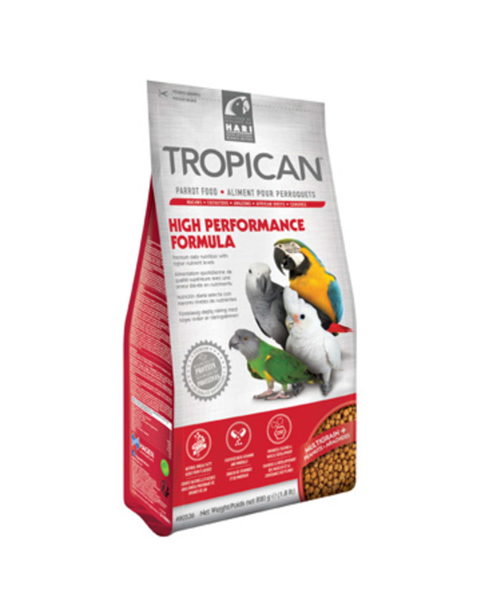 Tropican Tropican High Performance Granules for Parrots