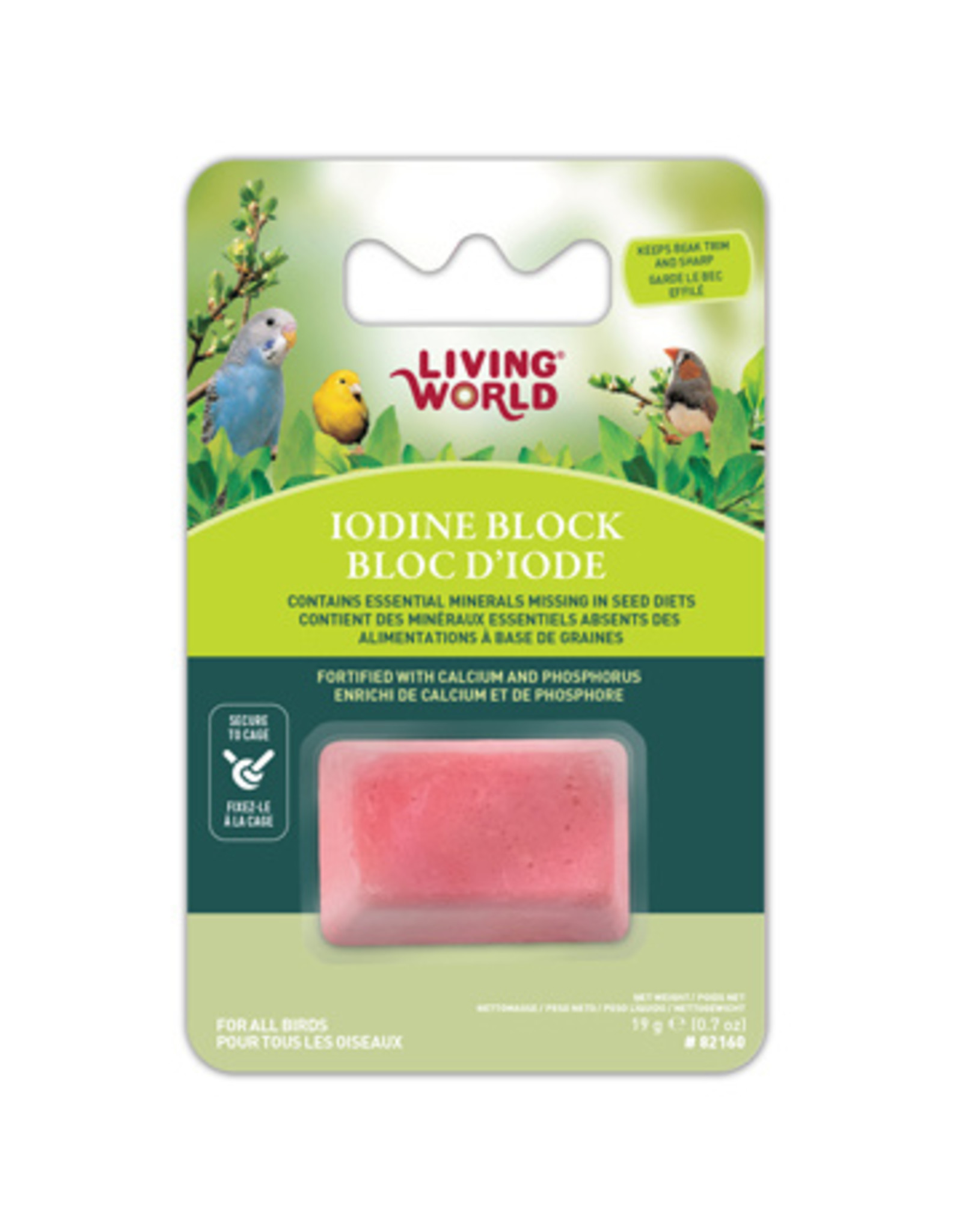 Living World Living World Iodine Block for Birds - Small - 19 g (0.7 oz)