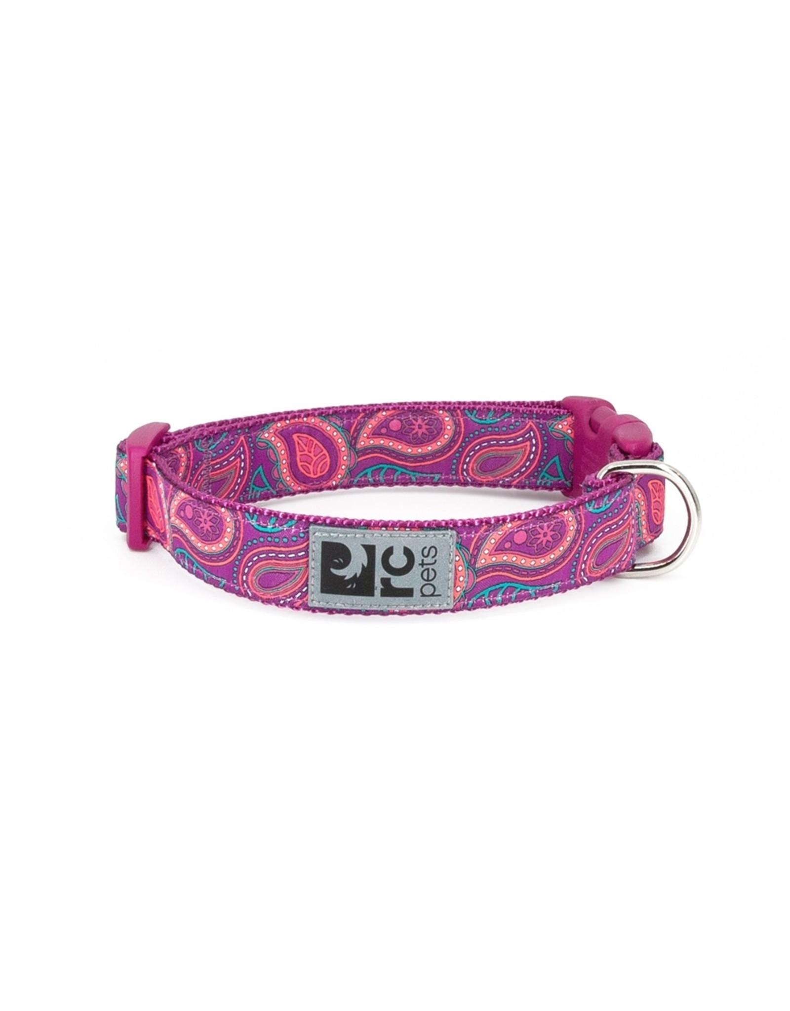 RC Pet RC Pet Dog Clip Collar Bright Paisley