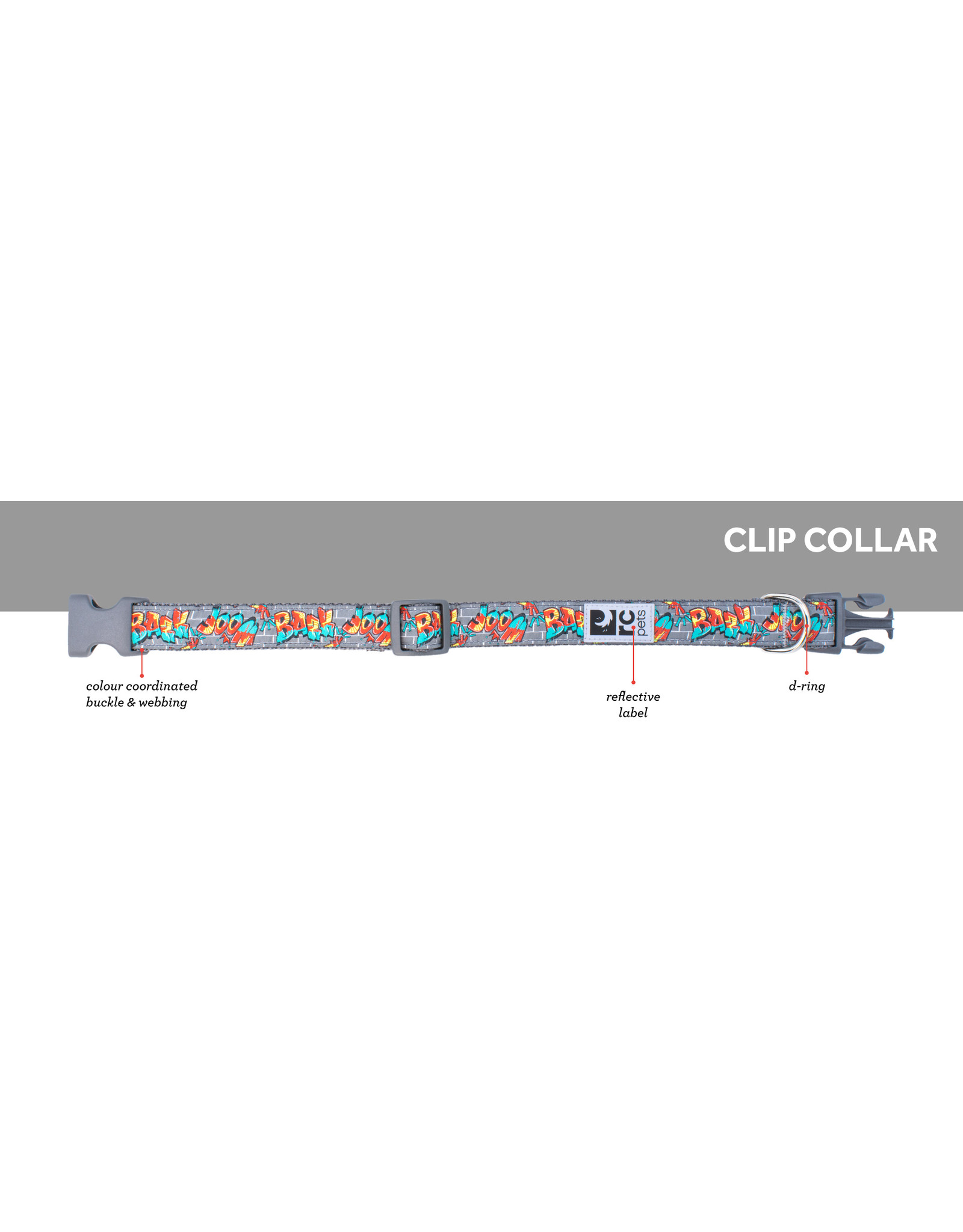 RC Pet RC Pet Dog Clip Collar Casablanca