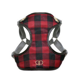 Pretty Paw Pretty Paws Harness Buffalo Check