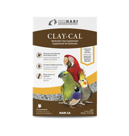 HR - HARI HARI Clay-Cal Bentonite Clay Supplement for Birds - 575 g (1.27 lb)