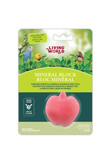 LW - Living World Living World Apple-Shaped Mineral Block for Birds - 31 g (1.1 oz)