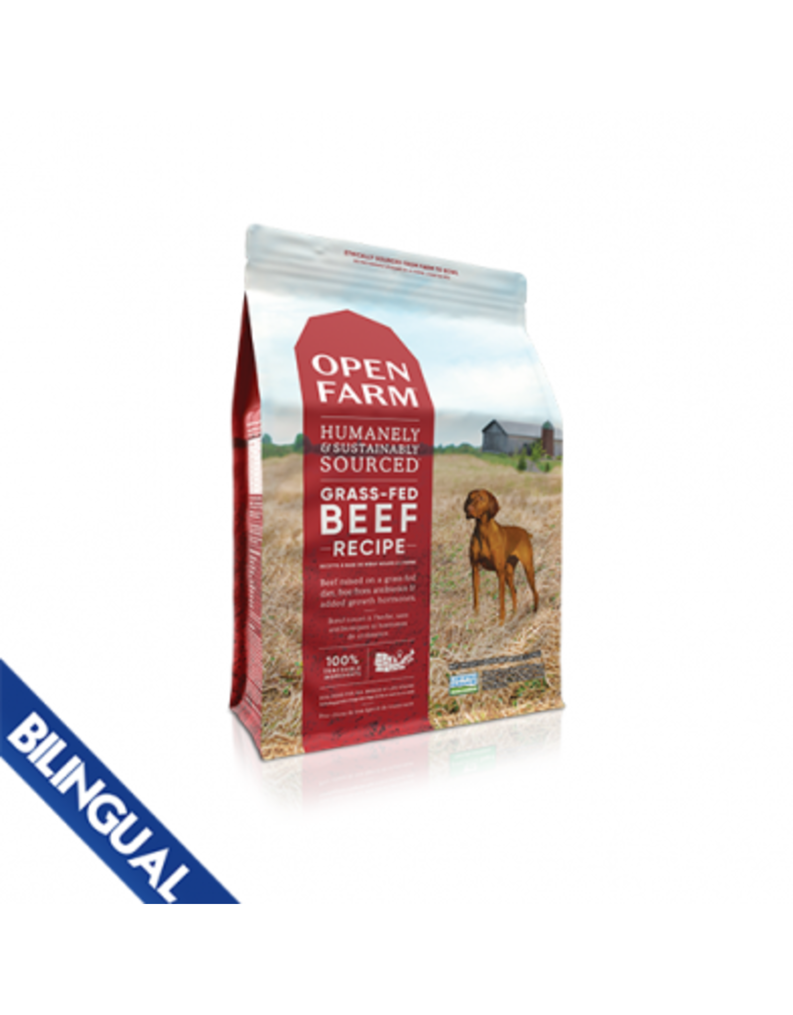 Open Farm Open Farm Grass Fed Beef Dry Dog Food