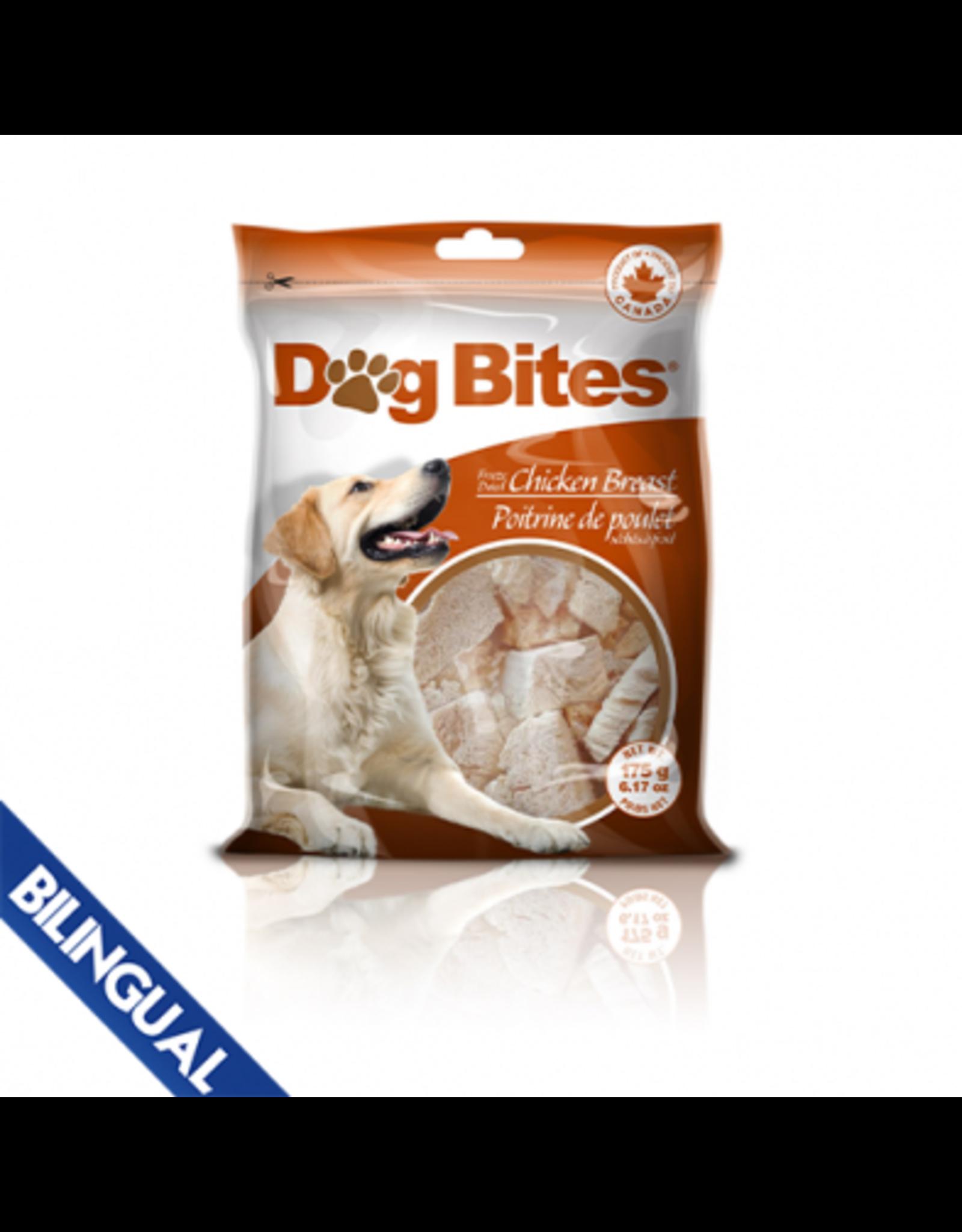 Dog Bites Dog Bites Chicken Breast Freeze Dried Dog Treats