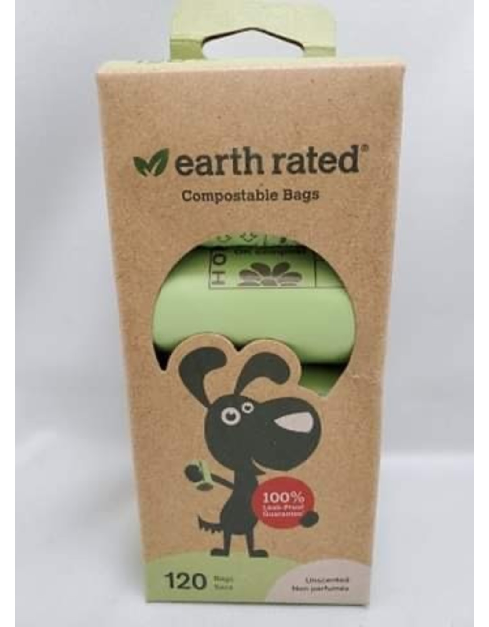 Earth Rated EARTHRATED ECO-FRIENDLY COMPOSTABLE BAGS (120 CT)