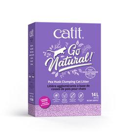 CA - Catit Catit GoNatural Pea Husk Litter Lavender 14L