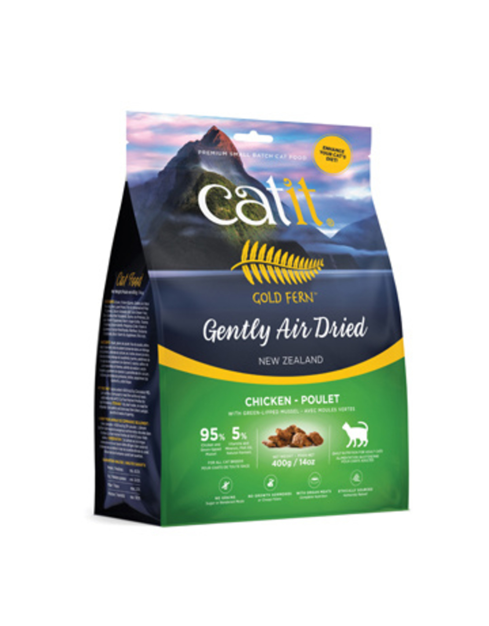 CA - Catit Catit Gold Fern Air Dried Food Chicken