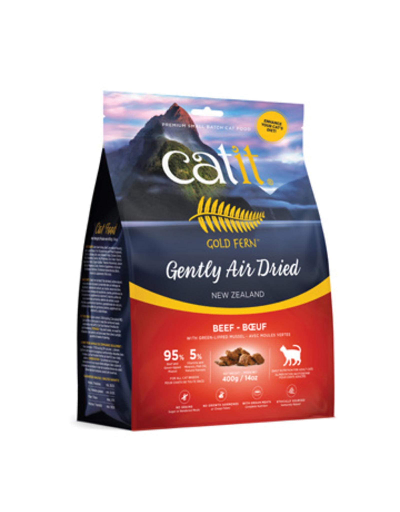 CA - Catit Catit Gold Fern Air Dried Food Beef