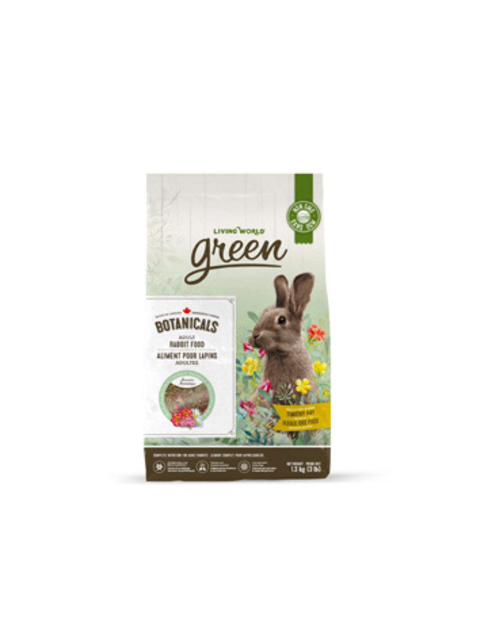 LW - Living World Living World Green Botanicals Adult Rabbit Food