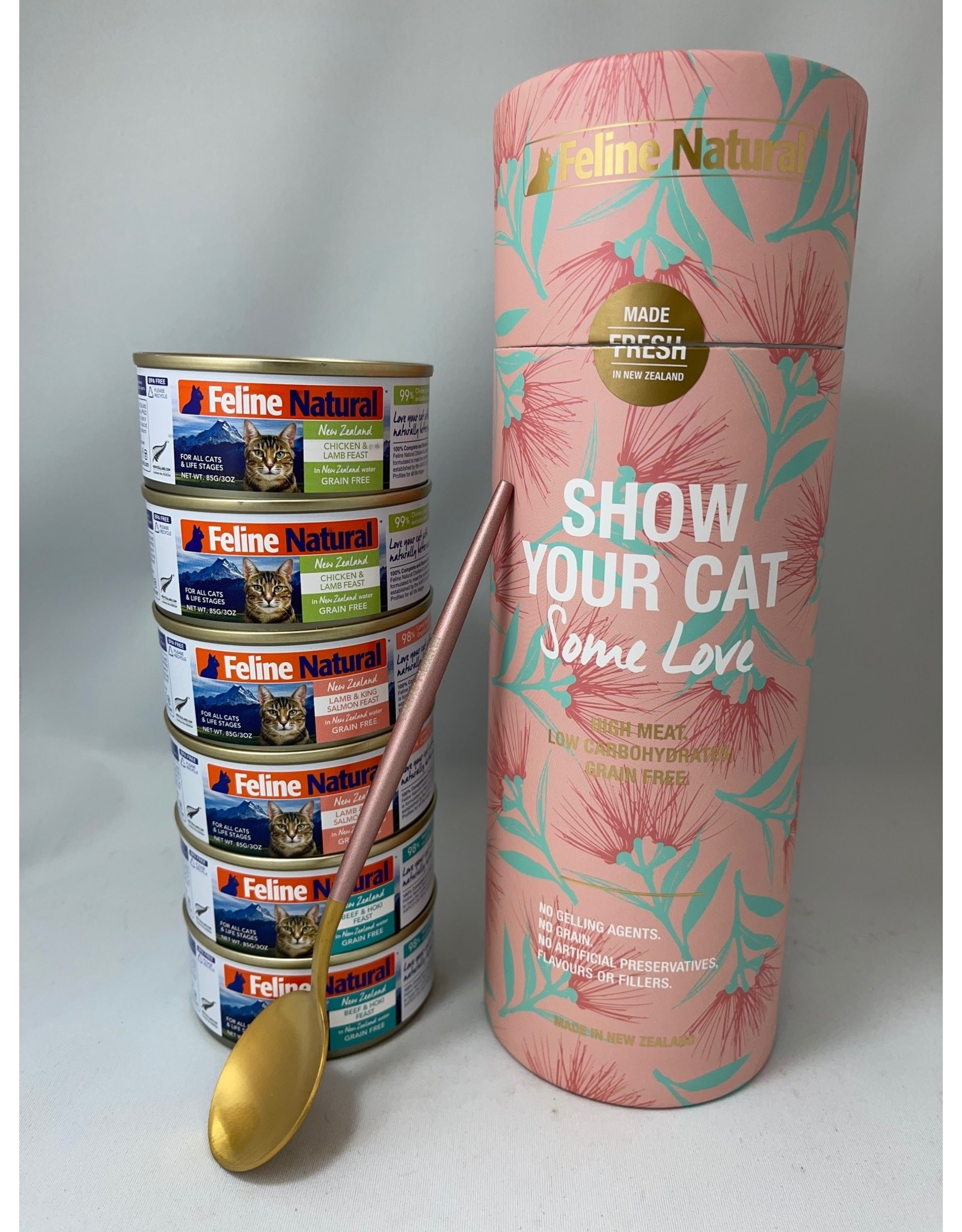 K9 Natural Feline Natural, Wet Love Your Cat , Canister 6 x 3oz