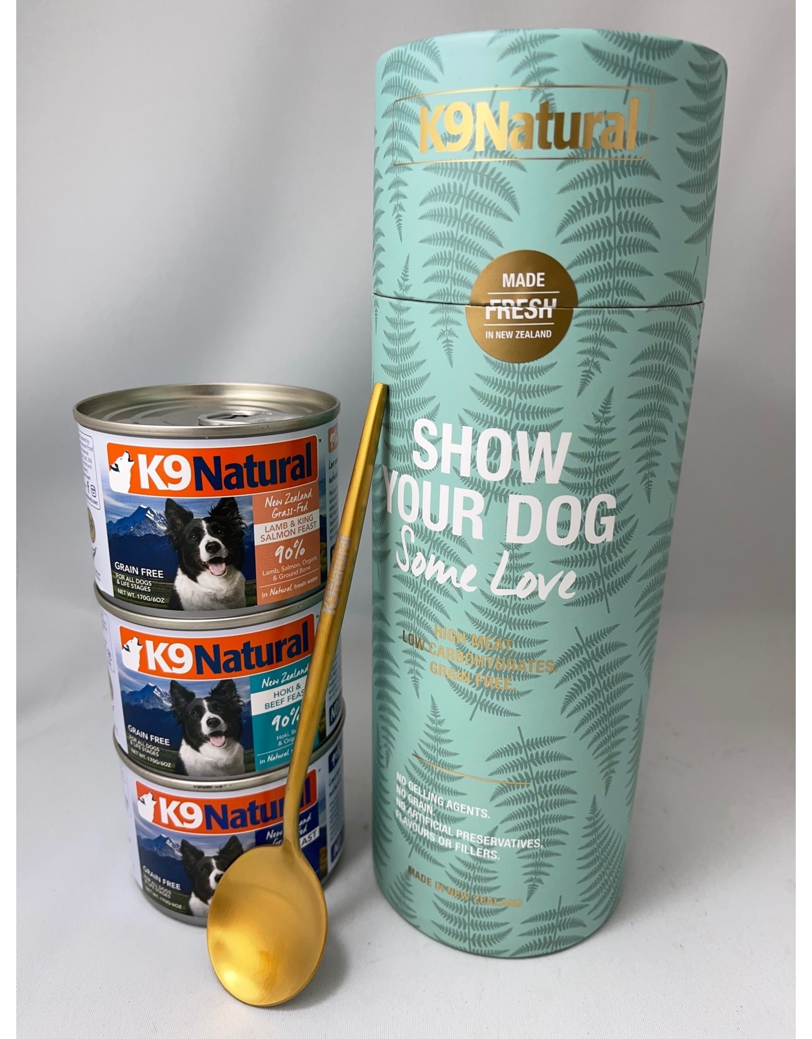 K9 Natural K9 Natural, Wet, Show Your Dog Some Love Canister 3x6oz