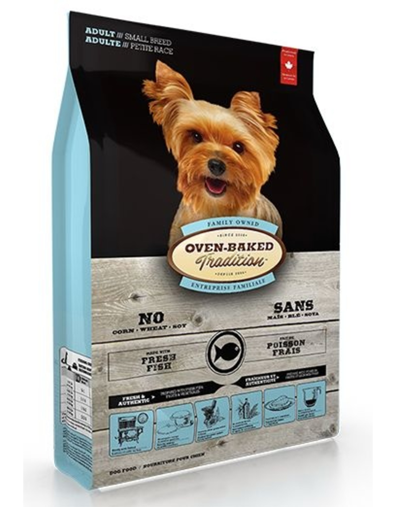 Ovenbaked Tradition Ovenbaked Tradition Dog Adult Small Bites Fish 5lb