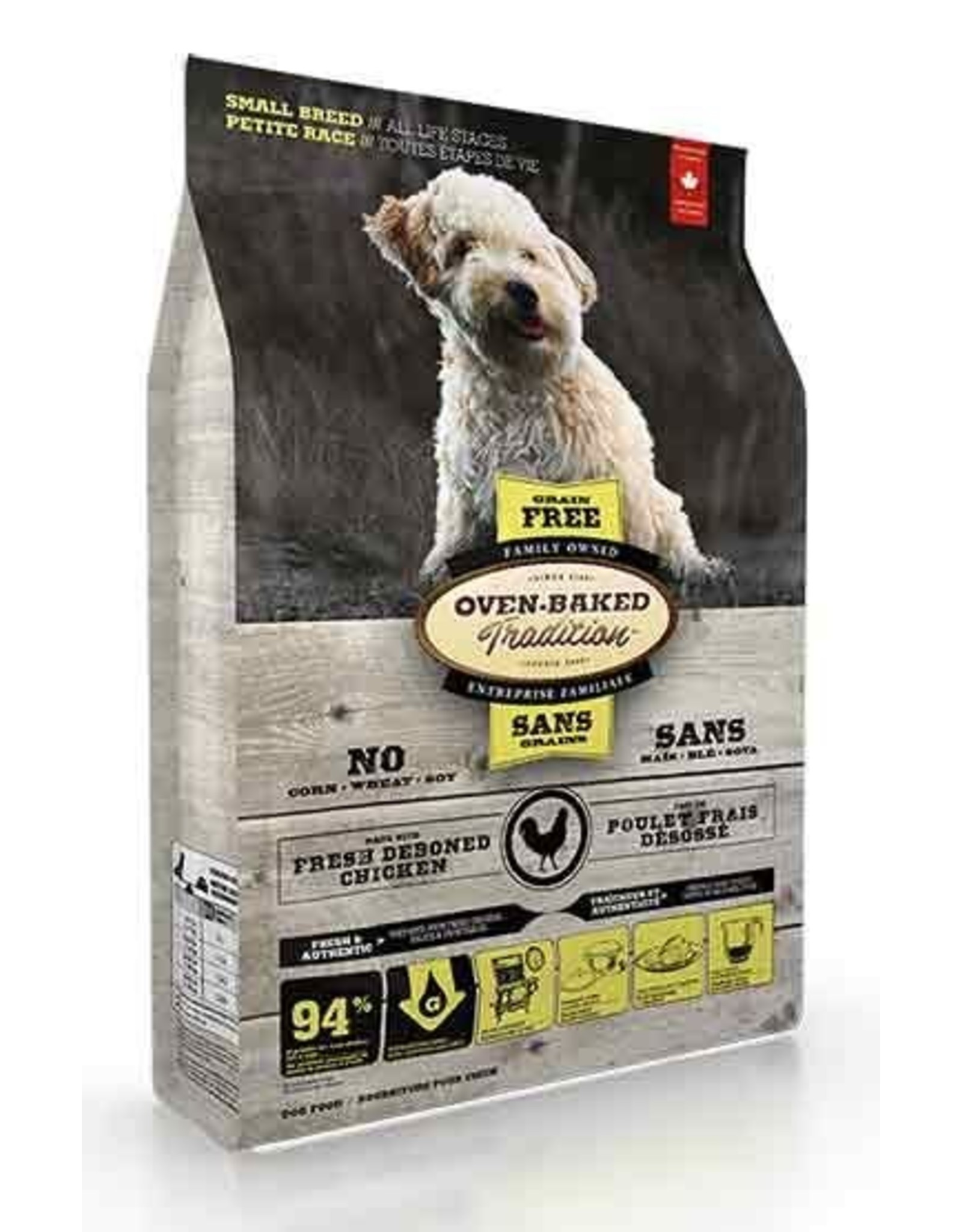 Ovenbaked Tradition Ovenbaked Tradition Dog Small Breed Grain Free Chicken