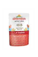 almo Almo Nature  La Cucina Tuna w/ Lobster in Jelly Cat Pouch 55g