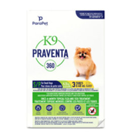 k9 K9 Praventa 360 Flea & Tick Treatment - Small Dogs up to 4.5kg