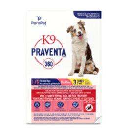 k9 K9 Praventa 360 Flea & Tick Treatment - Large Dogs 11 kg to 25 kg