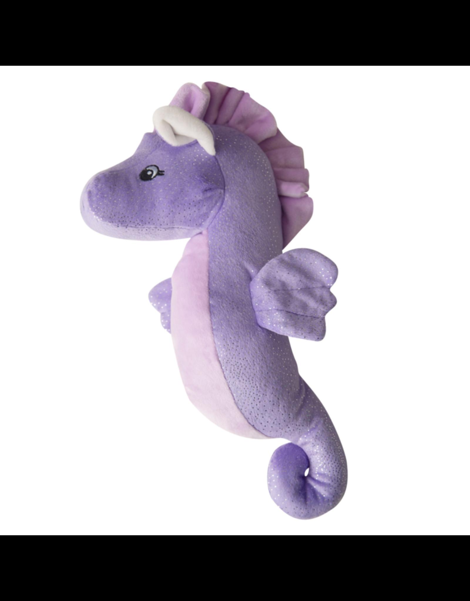 SNUGGAROOZ Snugarooz Shelly the Sea Horse Purple 17in