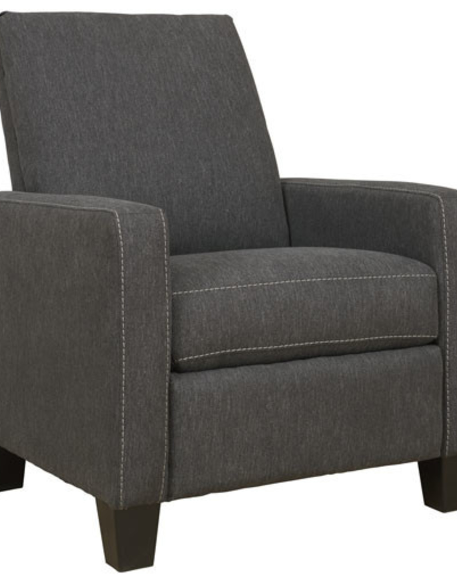 Dattner Low Leg Recliner (Charcoal) - Online Only