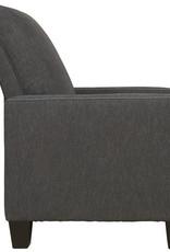 Dattner Low Leg Recliner (Charcoal) - Online Only