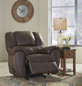 McGann Rocker Recliner (Walnut) - Online Only
