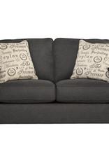 Alenya Sofa (Charcoal) Displayed in Showroom