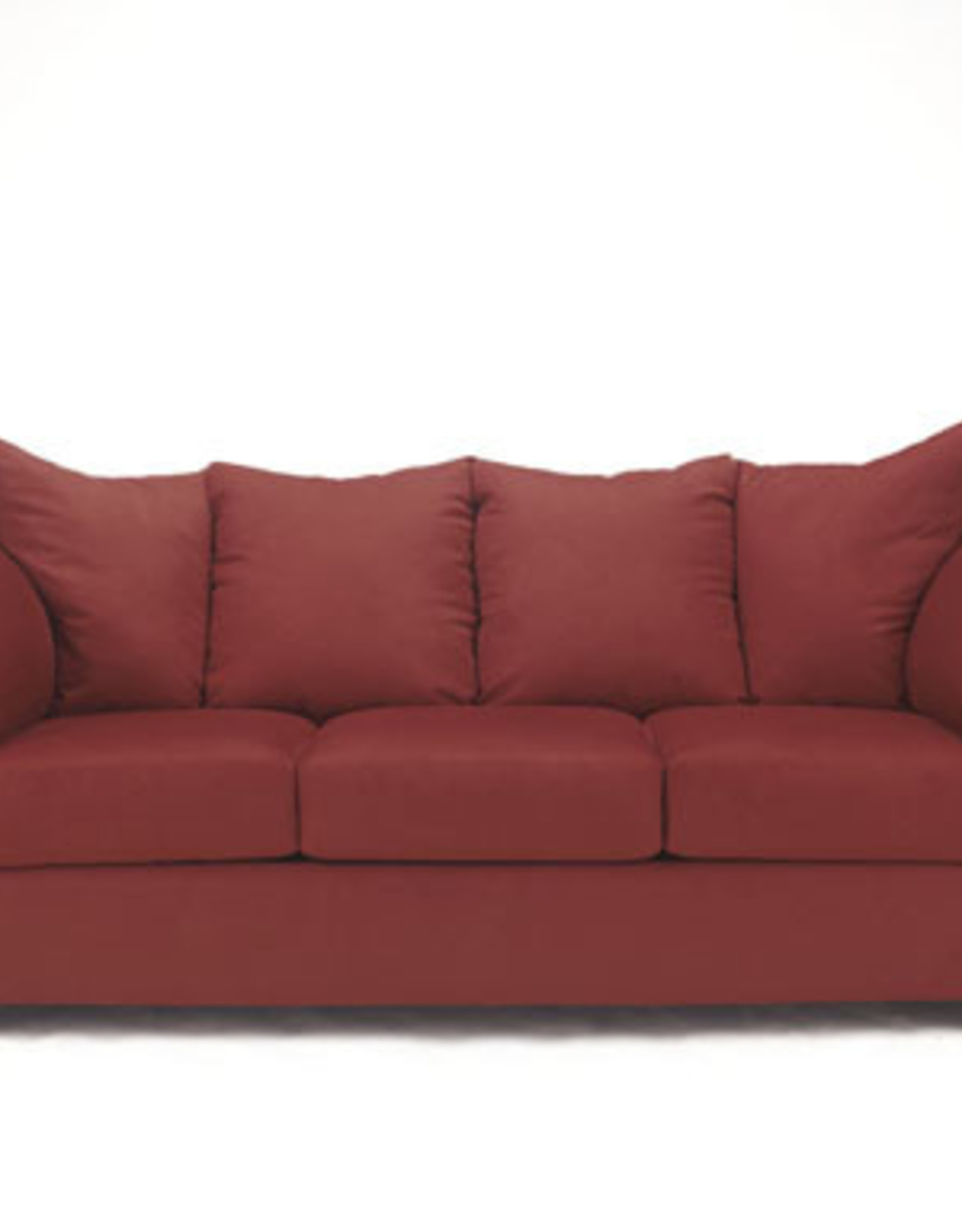 Darcy Sofa (Salsa) Displayed in Showroom in Black