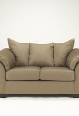Darcy Sofa (Mocha) Displayed in Showroom in Black