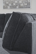 Altari Sofa (Slate) Displayed in Showroom