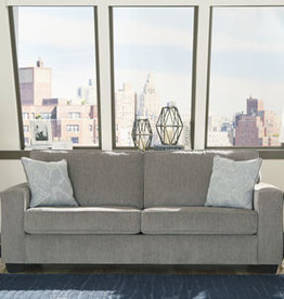 Altari Sofa (Alloy) Displayed in Showroom in Slate
