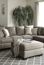 Calicho Sofa (Cashmere) Displayed in Showroom