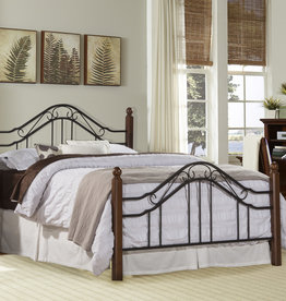 Madison Bed (Includes headboard, footboard, and rails)
