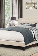 Nicole Bed (LINEN) - (Includes headboard, footboard, and rails)