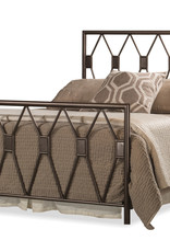 Tripoli Bed (Includes headboard, footboard, and rails)