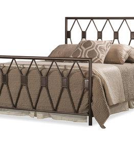 Tripoli Bed (Includes headboard, footboard, and rails)