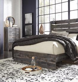 Drystan Bed (Includes headboard, footboard, and rails)