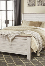 Willowton Bed (Includes headboard, footboard, and rails)