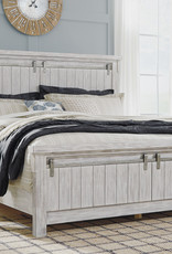 Brashland Bed (includes headboard, footboard, and rails)