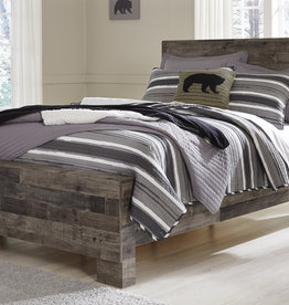 Derekson Panel Bed (includes headboard, footboard, and rails)
