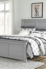 Arcella Bed (includes headboard, footboard, and rails)