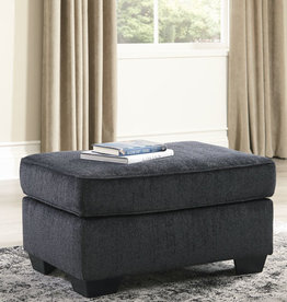 Altari Ottoman (Slate) - Sofa Displayed in Showroom