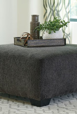 Ballinasloe Ottoman (Smoke) - Displayed in Showroom as a Sectional in Platinum